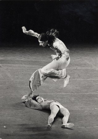 "Sara Rudner and Rose Marie Wright in Twyla Tharp's ""The Raggedy Dances"" at the ANTA Theatre (1972) Photo by William Pierce"