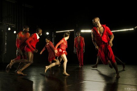 Reggie Wilson/Fist and Heel Performance Group in Moses(es) Photo Peggy Woolsey