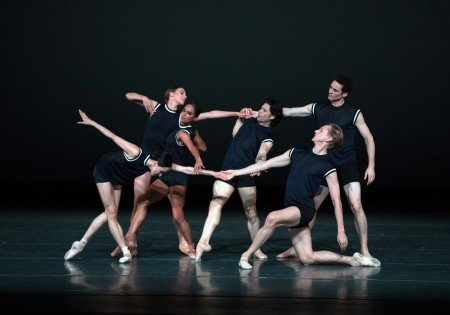 "American Ballet Theatre dancers in Benjamin Millepied's ""I Feel The Earth Move"" Photo by Rosalie O'Connor"