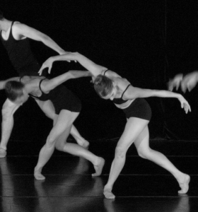 """ARC Dance Company dancers (l-r) Victoria Jahn and Madeline Bay in Kabby Mitchell's """"Que"""" Photo by ARC Dance Company"""