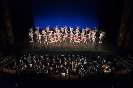 "Boston Ballet School's ""Next-Generation"" performance; Jonathan McPhee conducting Photo by Gene Schiavone courtesy Boston Ballet"