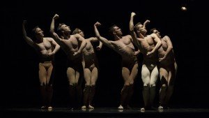 "Ballet West dancers in Val Caniparoli's ""Dances for Lou"" Photo by Beau Pearson"