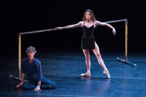 Damian Woetzel and Tiler Peck in Afternoon of a Faun, photo by Teresa Wood