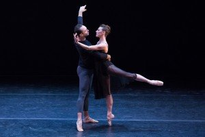 Tyler Angle and Tiler Peck in Dances at a Gathering, photo by Teresa Wood