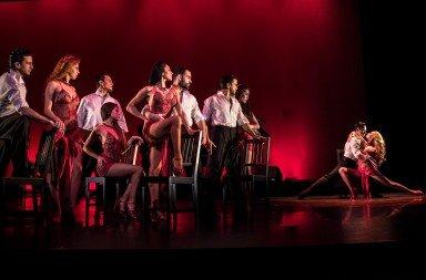"German Cornejo's Tango Fire  dancers in ""Tango Fire""   Photo by Zach Ciaburri"