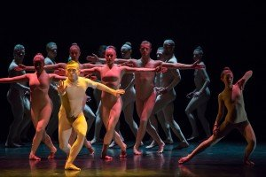 """Ballet BC dancers in Sharon Eyal and Gai Behar's """"Bill"""" Photo by Stephanie Berger"""