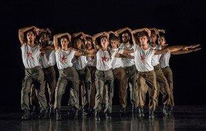 "Danza Contemporanea de Cuba dancers in George Céspedes's ""Matria Etnocentra"" Photo by Stephanie Berger"