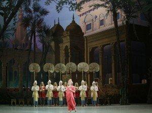 Mariinsky Ballet, La Bayadere, photo by Natasha Razina