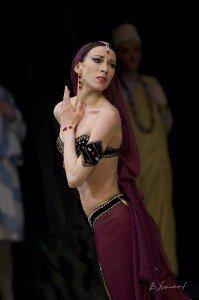 Mariinsky Ballet, Viktoria Tereshkina in La Bayadere, photo by Vyacheslav Khomyakov