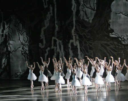 "New York City Ballet dancers in Peter Martins's ""Swan Lake"" Photo by Paul Kolnik"