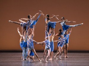 "New York City Ballet Dancers in Troy Schumacher's ""The Wind Still Brings"" Photo by Paul Kolnik"