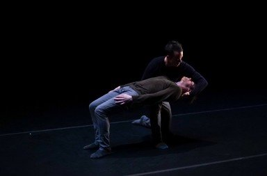 "Members of MOVETHECOMPANY  in Joshua Beamish's ""Saudade""    Photo by Ani Collier"