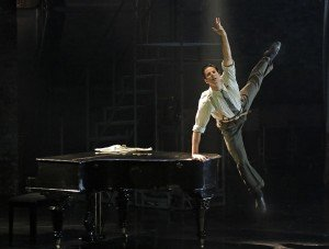 Marcelo Gomes as Julian Craster in Matthew Bourne's The Red Shoes, photo by Lawrence K. Ho