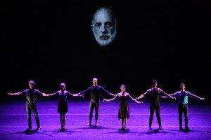 The cast of DEMO - Jerome Robbins American Dance Genius, photo by Teresa Wood