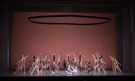 "Boston Ballet in Jorma Elo's ""Fifth Symphony of Jean Sibelius"" Photo by Rosalie O'Connor courtesy Boston Ballet"