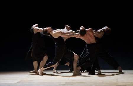 "Boston Ballet in Wayne McGregor's ""Obsidian Tear"" Photo by Rosalie O'Connor courtesy Boston Ballet"