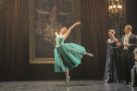 "Ashley Shaw and members of the Company in Mathew Bourne's ""The Red Shoes"" Photo by Johan Perrson"