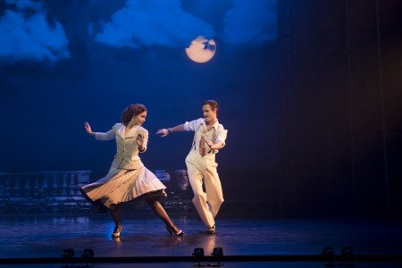 "Ashley Shaw and Sam Archer in Mathew Bourne's ""The Red Shoes"" Photo by Johan Persson"