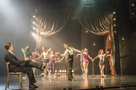"Sam Archer and members of the Company in Mathew Bourne's ""The Red Shoes"" Photo by Johan Persson"