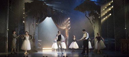 "The Company in Mathew Bourne's ""The Red Shoes"" Photo by Johan Persson"