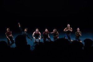"""Members of Zvi Dance in Zvi Gotheiner's """"LIKE"""" Photo by Heidi Gutman"""