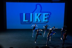 "Members of Zvi Dance in Zvi Gotheiner's ""LIKE"" Photo by Heidi Gutman"