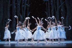 "Pacific Northwest Ballet dancers in ""George Balanchine's 'The Nutcracker'"" Photo by Angela Sterling"