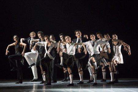 "PArtists of Pennsylvania Ballet in Alexander Ekman's ""Episode 31"" Photo: Erin Baiano"