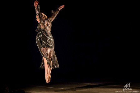 "Amy Campbell in ""Bristle"" Photo by Andrew Mauney"