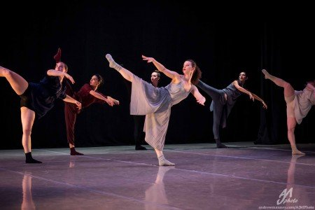 """Inclined Dance Project dancers in Kristen Klein's """"How to Beat The Blahs"""" Photo by AJM Photo"""