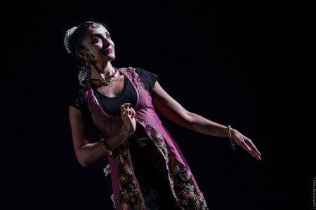 "Preeti Vasudevan in ""Stories by Hand"" Photo by Maria Baranova"