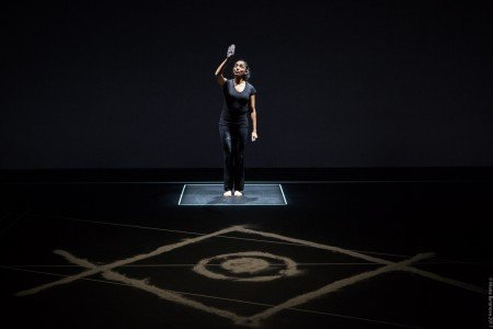 "Preeti Vasudevan in ""Stories by Hand"" Photo by Maria Baranova"