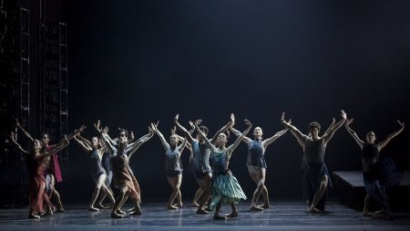 "Artists of Pennsylvania Ballet the world premiere of Helen Pickett's ""TILT"" Photo: Erin Baiano"