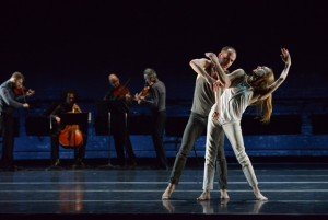 Wendy Whelan, Brian Brooks, and Brooklyn Rider in Some of a Thousand Words, photo by Nir Arieli