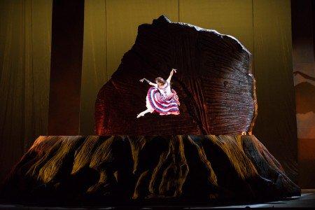 Lorena Feijóo as Lola Montez in John Adams' Girls of the Golden West Photo Stefan Cohen/San Francisco Opera