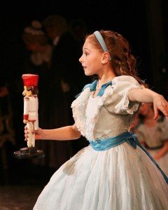 "Lauren Herfindahl (as Clara) in Mikko Nissinsen's ""The Nutcracker"" Photo by Sabi Varga courtesy of Lauren Herfindahl"
