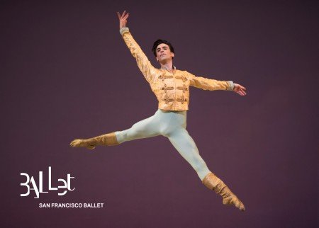 Joseph Walsh in Tomasson's Nutcracker Photo © Erik Tomasson