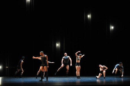 "Malpaso Dance Company in Aszure Barton's ""Indomitable Waltz"" Photo by Judy Ondrey"