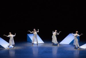 "New York City Ballet dancers  in Angelin Preljocaj's ""Spectral Evidence"" Photo by Paul Kolnik"