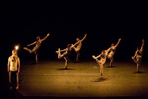 """Whim W'Him dancers in Ihsan Rustem's """"Seed"""" Photo courtesy of Whim W'Him"""