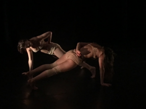 """Casey Howes and Kristina Bermudez of Lauren Beirne Dance Works in """"The Principles: Part 6"""" Photo by Basil Pologianis"""