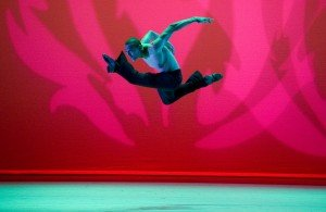 Clifton Brown in Alvin Ailey's Revelations, photo by Nan Melville