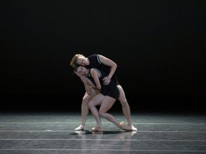 ABY's Devon Teuscher and David Hallberg in Benjamin Millepied's I Feel The Earth Move, photo by Rosalie O'Connor