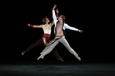 ABT in Serenade After Plato's Symposium, Blaine Hoven and Daniil-Simkin, photo by Rosalie OConnor
