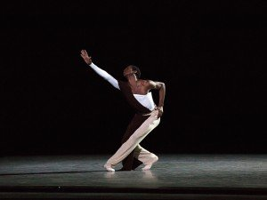 ABT's Calvin Royal III in Alexei Ratmansky's Serenade after Plato's Symposium, photo by Rosalie O'Connor