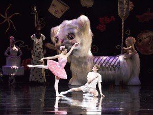 ABT's Sarah Lane and Daniil Simkin in Alexei Ratmansky's Whipped Cream, photo by Gene Schiavone