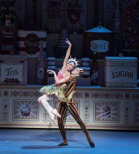 ABT's Stella Abrera and David Hallberg in Alexei Ratmansky's Whipped Cream, photo by Gene Schiavone