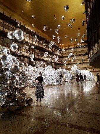 New York City Ballet Winter 2018 Art Exhibition (2) Art installation by Jihan Zencirli Photo by Jerry Hochman