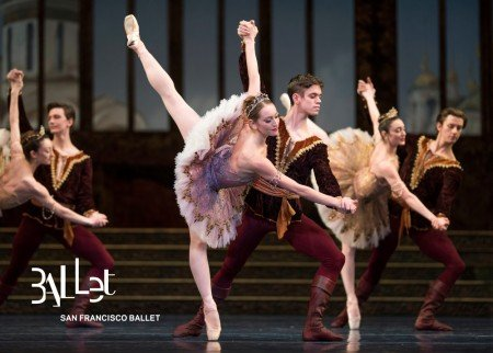 San Francisco Ballet in Tomasson's The Sleeping Beauty Photo © Erik Tomasson