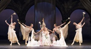 TWB in John Cranko's Romeo & Juliet, photo by Gene Schiavone
